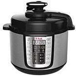 T-fal® 5.3 qt Electric Pressure Cooker; Stainless Steel/Black (CY505E51)