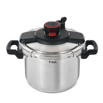 T-fal® Clipso 6.3 qt Dishwasher Safe Pressure Cooker; Stainless Steel (P4500734)