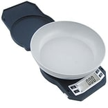 American Weigh Scales 17.64 oz. Compact Kitchen Bowl Scale; Black (LB-501)