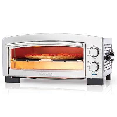 Black and Decker™ Pizza Oven and Snack Maker; Silver (P300S)