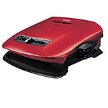 George Foreman® 5 Serving Removable Plate Grill; Red (GRP2841)