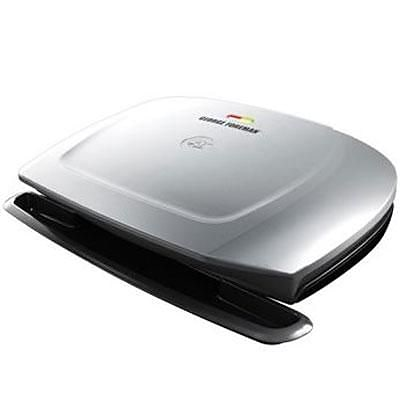George Foreman® 9 Serving Classic Plate Grill, Silver (GR2144P)