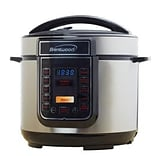 Brentwood 5 qt. Electric Pressure Cooker; Silver/Black (EPC526)