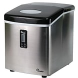 Chard™ 35 lbs. Portable Ice Maker; Stainless Steel (IM-12SS)