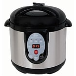 Chard™ The CANner 9.5 Quart Pressure Canner and Cooker; Black (DPC9SS)