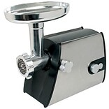 Chard™ #8 Heavy Duty Electric Grinder; Black/Silver (FG800SS)