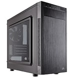 Corsair® Carbide Series® 88R Window Mid-Tower Computer Case; 5xBay, for Mini ATX/Micro ATX Motherboard (CC-9011086-WW)