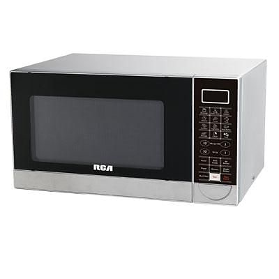 Curtis 1.1 cu. ft. Grill Microwave Oven; Stainless Steel (RMW1182)