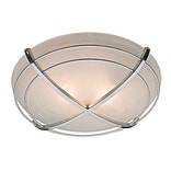 Hunter® Halcyon 6.45 x 7.78 x 8.35 Contemporary Bathroom Exhaust Fan with Light; Cast Chrome (81030)