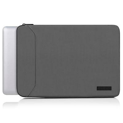 Incipio® IM-353 Asher™ Premium 13 Laptop Sleeve for MacBook Pro, Gray