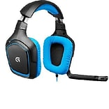 Logitech G430 Surround Over-the-Head Gaming Headphones with Mic; Black