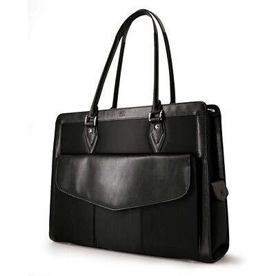Mobile Edge Geneva Black Microfiber Handbag for 17.3 Laptop (MEGN1L)