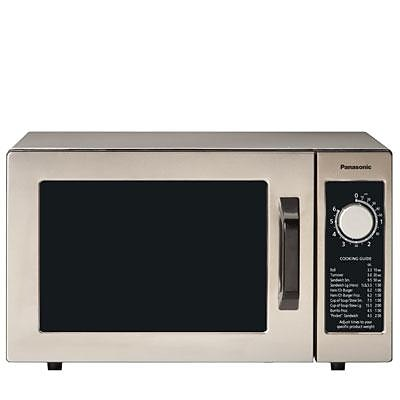 Panasonic 0.8 cu. ft. Commercial Microwave Oven; Stainless Steel (NE1025F)