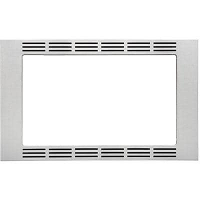 Panasonic 27 Trim Kit for Select Microwaves; Stainless Steel (NNTK621SS)