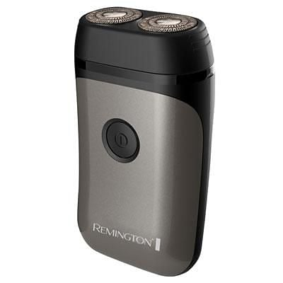 Remington® Dual Flex Travel Rotary Shaver; Mens, Black/Gray (R95CDN)