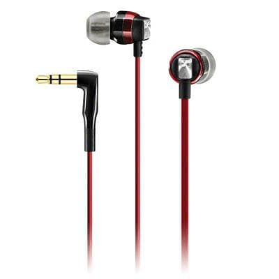 Sennheiser CX3.00 In-Ear Headset; Red