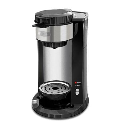 BELLA® 14392 DualBrew Single Serve Coffee Maker, Black (BLA14392)