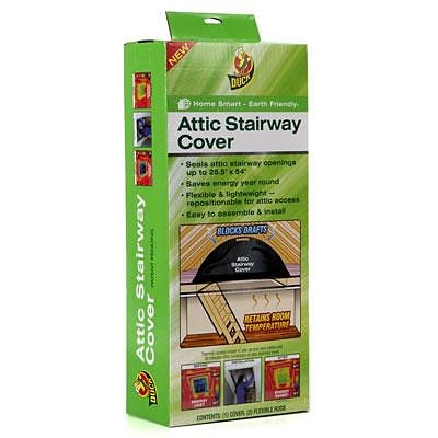 Duck® Energy-Saving Attic Stairway Cover