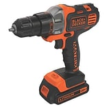 Black & Decker™ Matrix™ Lithium Ion Cordless Drill/Driver Kit, 20 V (BDCDMT120C)
