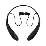 Supersonic® IQ127BT Stereo Bluetooth Behind-the-Neck Headphones with Mic; Black