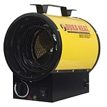 World Marketing Dura Heat® 4000 W Electric Forced Air Heater; Yellow (EUH4000)
