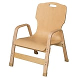 Wood Designs Healthy Kids Wood Classroom Chair; 12