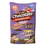 Mars Chocolate Favorites, 60 Piece, 33.90 oz