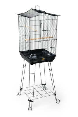 Prevue Hendryx Crown Roof Parakeet Cage w/