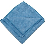Zwipes 16 x 16 Microfiber Cleaning Towel, Blue, Package of 12 (H1-725)