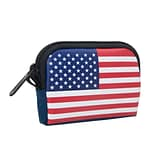 Manhattan Portage Stars And Stripes Coin Purse Navy (1008-FLAG NVY)