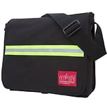 Manhattan Portage Reflective Dj Bag Medium Black (1420 BLK)