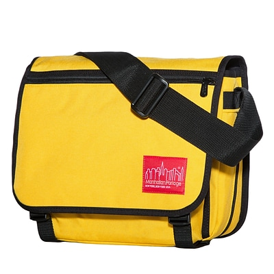 Manhattan Portage Europa Small with Back Zipper And Compartments Mustard (1435Z-C MUS)