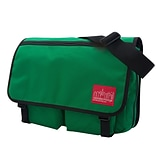 Manhattan Portage Europa Deluxe Large with Back Zipper Green (1440Z GRN)