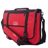 Manhattan Portage Wallstreeter with Back Zipper Red (1444Z RED)