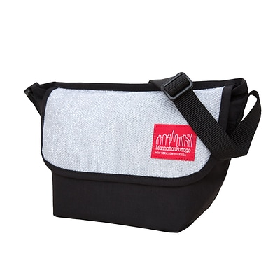 Manhattan Portage Midnight Messenger Bag (1603-MDN-2 GRY)