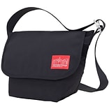 Manhattan Portage Vintage Messenger Bag Small Black (1605V BLK)