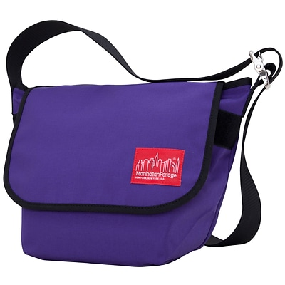 Manhattan Portage Vintage Messenger Bag Small Purple (1605V PRP)