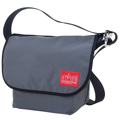Manhattan Portage Vintage Messenger Bag Medium Grey (1606V GRY)