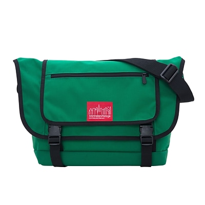 Manhattan Portage Willoughby Messenger Bag Green (1637-2 GRN)