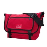 Manhattan Portage Willoughby Messenger Bag Red (1637-2 RED)