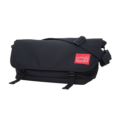 Manhattan Portage Straphanger Messenger Bag Large Black (1647 BLK)