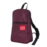 Manhattan Portage Midnight Ellis Backpack Burgundy (1907-MDN BUR)