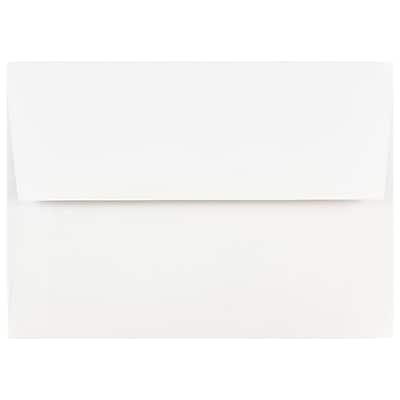 jam paper a7 invitation envelopes 5 25 x 7 25 white 1000 carton