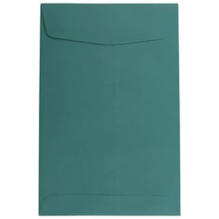 JAM Paper® 6 x 9 Open End Catalog Envelopes, Teal, 25/Pack (31287525)
