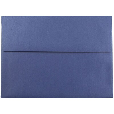 JAM Paper® A7 Invitation Envelopes, 5.25 x 7.25, Stardream Metallic Sapphire Blue, 1000/carton (SD5380 16B)