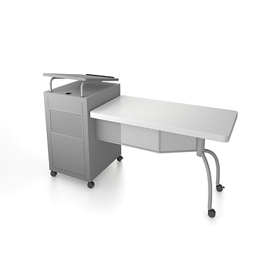 Oklahoma Sound EDUPOD - LECTERN/TEACHERS DESK COMBO