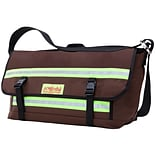 Manhattan Portage Professional Bike Messenger Bag Large Dark Brown (1611 DBR)