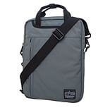Manhattan Portage Commuter Jr. Laptop Bag 13 Black Label Grey (1710-BL GRY)