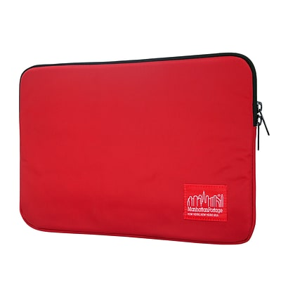 Manhattan Portage Waterproof Nylon Laptop Sleeve 10 Red (1031-NW RED)