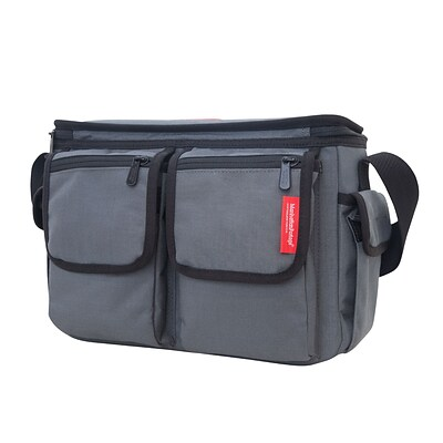 Manhattan Portage Shutterbug Messenger Bag Grey (1540 GRY)